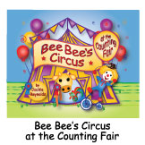 Bee Bee's Circus at the Counting Fair brings circus excitement to numbers and counting. When Bee Bee the Clown visits a country fair with her circus, an adventurous inchworm named Spunky jumps into the show as ringmaster. Spunky adds to the high-flying fun as he counts cows, chickens, goats, pigs, poodles and ponies. Kids from preschool to the early elementary grades make connections between numerals, number words and numbers of objects as they count to ten in this witty, rhyming, 180 word picture book.