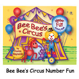 Bee Bee's Circus Number Fun Activity Book engages children, ages 3 to 8 years, with hands-on learning experiences while encouraging them to count backwards from twenty to one. Learners have space for individual creativity with activities to develop visual tracking, fine motor, listening and language skills, concentration, eye-hand coordination and pattern recognition. Flexible activities provide a broad age/ability range to both encourage beginners and also challenge those children ready for more witty, rhyming number fun in this 48 page softcover activity book.
